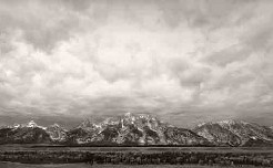 The Tetons - Vintage Photography